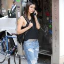 Victoria Justice Out and About In East Village