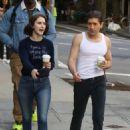 Rachel Brosnahan – 'The Marvelous Mrs. Maisel' Filming Rehearsals in Chelsea, New York - 454 x 655