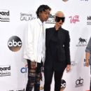 Amber Rose and Wiz Khalifa attend the 2014 Billboard Music Awards at the MGM Grand Garden Arena in Las Vegas, Nevada - May 18, 2014 - 422 x 594
