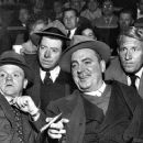 James Cagney, Frank McHugh, Pat O'Brien, and Spencer Tracy