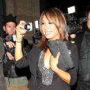 Cheryl Burke Leaves Katsuya Restaurant In Hollywood, 10 May 2010