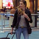 Katie Cassidy– Airport Candids 10/6/2016 - 454 x 681