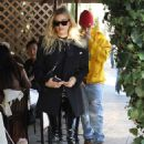 Hailey and Justin Bieber – Leaves IL Pastaio in Beverly Hills