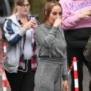 Stephanie Davis at Lime Pictures Studios in Liverpool - 454 x 886