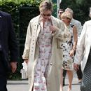 Lily James – Women's Final Day at the Wimbledon 2019 Tennis in London - 454 x 681