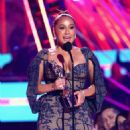 Adrienne Bailon – ALMAs 2018 LIVE On Fuse in Los Angeles - 454 x 680