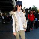 Nicole Trunfio Arrives In Sydney