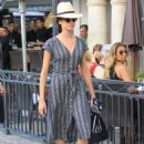 Odette Annable – Spotted doing some shopping at the Gap in Hollywood