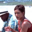 Bill Cobbs and Angela Bassett in Sony Pictures Classics' Sunshine State - 2002