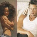 Brad Pitt and Robin Givens - 454 x 355