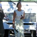 Vanessa Hudgens – Pictured on the set in Los Angeles