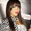 Adrienne Bailon - Swatch CreArt Collection Launch Party On July 15, 2009 In New York City