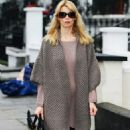 Claudia Schiffer - After Taking Her Children To School, 19 January 2010