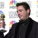 Robert Downey Jr. Attends The 58th Annual Golden Globe Awards - Press Room (2001)
