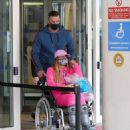 Katie Price – Is seen at the Chelsea and Westminster hospital - 454 x 519