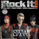Sixx:am - Rock It Magazine Cover [Germany] (June 2016)