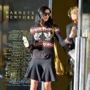 Liberty Ross Leaves Barneys In Los Angeles