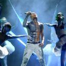 Chris Brown performing at the 2012 BET Awards (July 1)