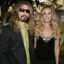 Rob Zombie and wife Sheri Moon attend the West Coast premiere of 'The Devil's Rejects' during the annual Comic-Con on July 16, 2005 in San Diego, California.