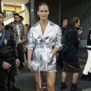 Bar Refaeli – Outside Byblos Fashion Show in Milan