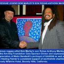 A REGGAE LEGEND BOB MARLEY'S SON ROHAN ANTHONY MARLEY!