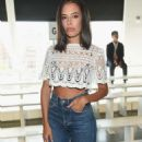 Chloe Bridges – Tadashi Shoji Fashion Show in NYC - 454 x 684