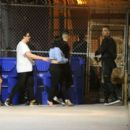 Demi Lovato and G-Eazy – Leaving Warwick nightclub in Hollywood - 454 x 391