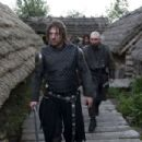 Sean Bean and Johnny Harris in BLACK DEATH, a Magnet Release. Photo courtesy of Magnet Releasing. - 454 x 302