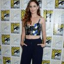 "Sarah Wayne Callies – ""Colony"" Press Line at Comic-Con in San Diego 07/20/2017"
