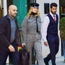 Rosie Huntington Whiteley – Leaves her hotel in NYC - 454 x 611