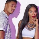 Lil' Fizz and Moniece Slaughter