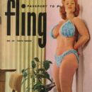 Fling Magazine Cover With Virginia Bell - 454 x 670