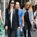 Kendall Jenner are spotted out and about in New York City, New York on August 30, 2015
