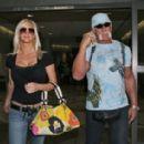 Hulk Hogan and Jennifer Mcdaniel Leaves LAX