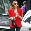 Karen Gillan - Out And About In London - August 2, 2010