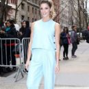 Ashley Greene at 'Live with Kelly & Michael' in New York City, New York on April 7, 2016 - 407 x 600