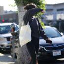 Dakota Johnson – Leaves the gym in Los Angeles