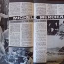 Michèle Mercier - Cine Tele Revue Magazine Pictorial [France] (4 November 1965) - 454 x 297