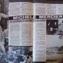 Michèle Mercier - Cine Tele Revue Magazine Pictorial [France] (4 November 1965) - 454 x 297