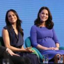 Prince Harry, Meghan Markle, Catherine, Duchess of Cambridge and Prince William, Duke of Cambridge attend the first annual Royal Foundation Forum - 454 x 520