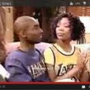Brandy and Kobe Bryant