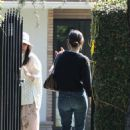 Rachel Bilson attending Kristen Bell's baby shower in Los Feliz, CA (February 23)