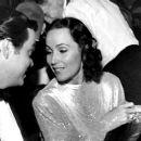 Dolores del Rio and Orson Welles 1940 premier of Citizen Kane - 430 x 257