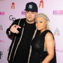 Blac Chyna and Rob Kardashian at Blac Chyna's Chymoji App Launch Party at The Hard Rock Cafe in Los Angeles, California - May 10, 2016