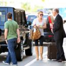 Hilary Duff - LAX Airport Candids, 30.08.2009.