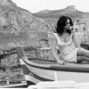 Maria Grazia Cucinotta - Photoshoot In Salina, Sicily, 2009