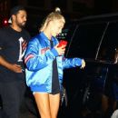 Hailey Baldwin and Justin Bieber – Leaving their hotel in New York City