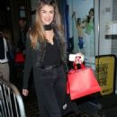 Amy Willerton Arriving to the SPORTFX Cosmetic and Sports Launch Party in London, November 2016 - 454 x 716