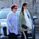 Sharon and Aimee Osbourne out in Venice - 454 x 680
