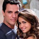 Nanda Costa and Rodrigo Lombardi
